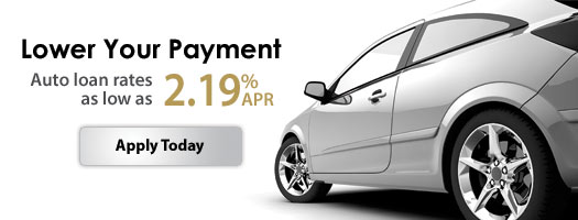 Auto loan rates as low as 2.19% APR