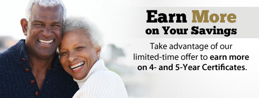 Earn more on your savings!