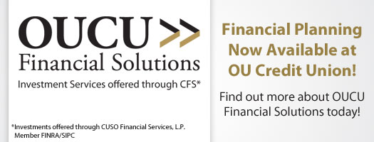 Financial Planning Now Available at OU Credit Union