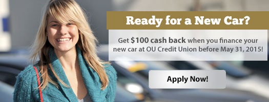 Bring your auto loan to OUCU and save!