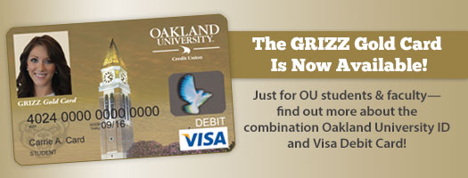 Get your GRIZZ Gold Card today!