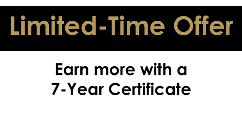 Limited-Time Offer: Earn More with an OU Credit Union 7-Year Certificate