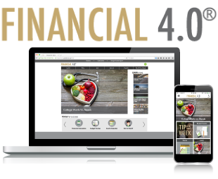 Financial 4.0 on the web or via mobile app!