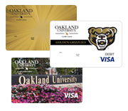 OU Credit Union Visa Debit Card Styles